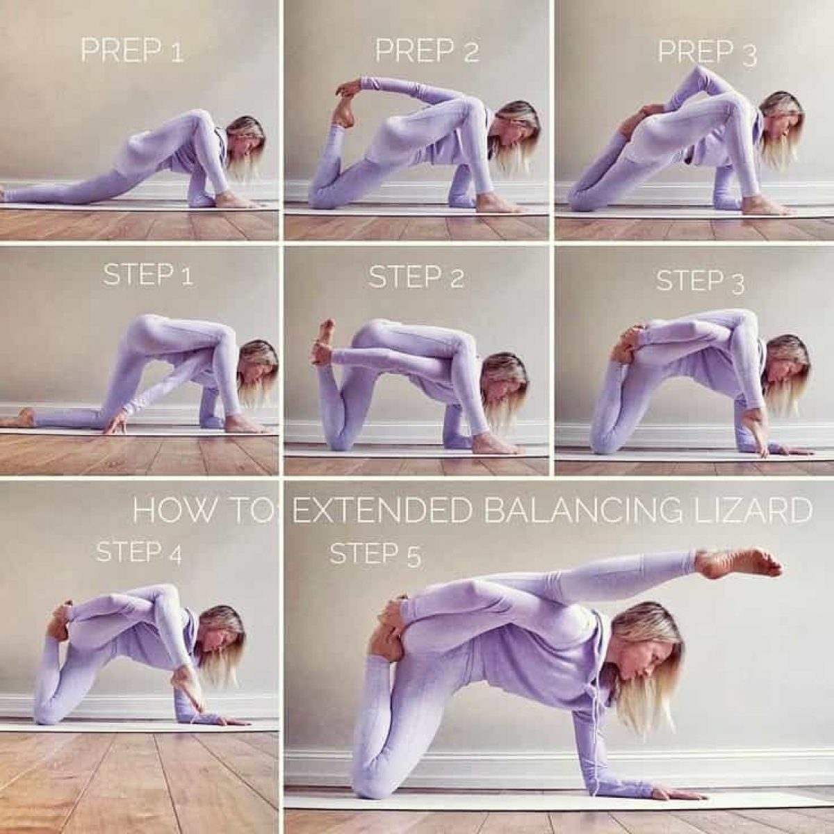 Lizard Pose And Hips